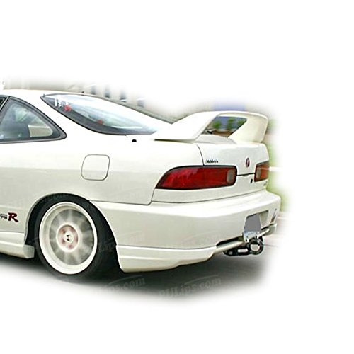 Type-R Style Rear Bumper Caps For