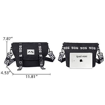 Fourguiren Messenger Bag Crossbody Shoulder Casual Satchel for Men Grey