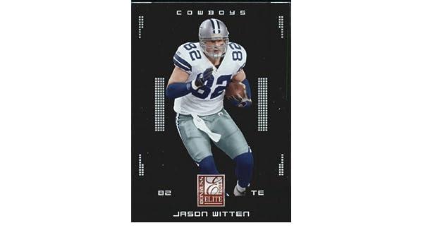 72a304a45a5 Amazon.com: 2008 Donruss Elite Football Card #28 Jason Witten Near  Mint/Mint: Collectibles & Fine Art