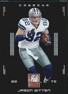 0d61e0b9f05 Amazon.com: 2008 Donruss Elite Football Card #28 Jason Witten Near ...