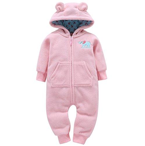 Layette Baby Unisex (Memela(TM Winter Unisex Baby Layette Gift Set Rompers Onesie (12-18 mos, Pink))