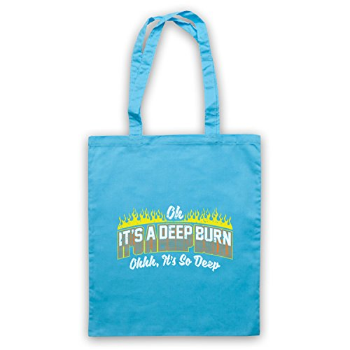 amp; Slogan Icon Deep Burn A d'emballage Art It's Oh So Funny Sac Deep Clothing My Bleu Clair It's RqEdxYOxw
