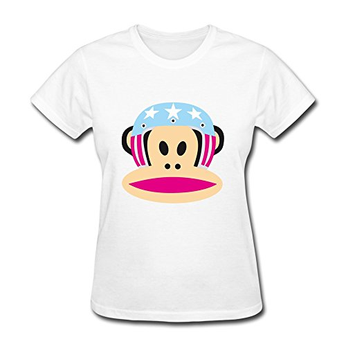 hm Women's T-Shirts Big Mouth Monkey Size S - Beckham Photo Family