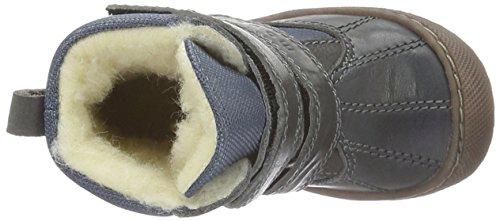 move Baby Jungen Tex-Boot mit Wollfütterung Lauflernschuhe Grau (Dark grey150)