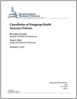 Amazon.com: Cancellation of Nongroup Health Insurance ...