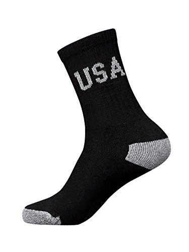 Stanzino® 12 Pair Elite Cotton Socks Sensitive Skin & Irritation Comfort Control