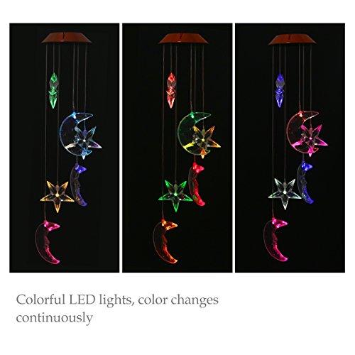 OULII Chimes Shapes Solar Powered Illumination product image