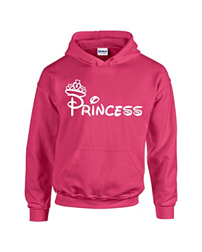 Priencess Minnie Fashion Popular for Women Pullover Hoodie(Pink,Small)