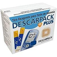 Fita De Glicose Tira Glicemia 100 Unidades Descarpack