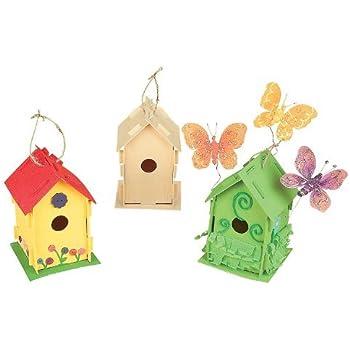 Toysmith Build and Paint a Birdhouse 2 Pack Bundle Savers