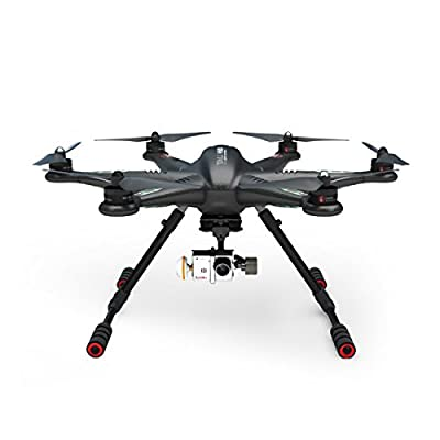 OLSUS 12-CH 2.4GHz Radio Control Outdoor Hexacopter w/ Camera / GPS / Gyro - Black by OLSUS