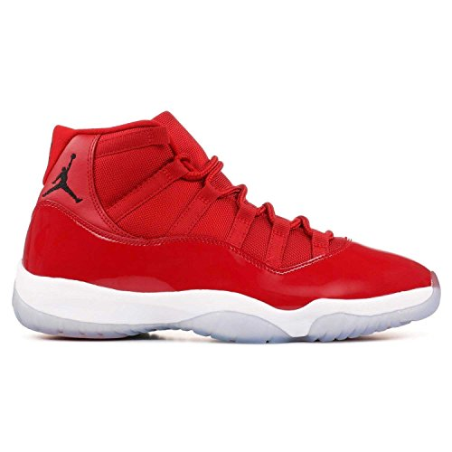 Jordan Men's Air 11 Retro, Gym Red/Black-White, 9 M - New Mens Jordans