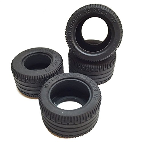 Lego Parts: Technic Mindstorms Tire 49.6mm x 28mm VR (Service Pack of 4)