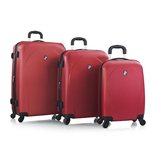 Heys Xcase Spinner Red 3 Piece Set