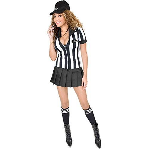 Sexy Teen Referee Costume (Size: Teen -