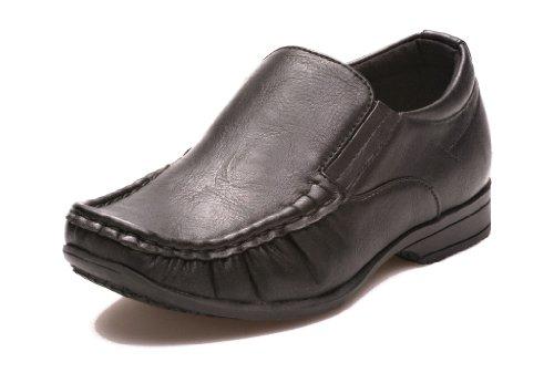 Jungen Slip On Smart Shoe Formell, Casual School 13-6 Größe