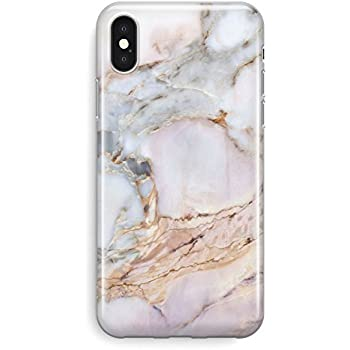 on sale c9920 30619 Recover Gemstone Marble iPhone X Case/iPhone Xs Case. Soft Protective  Silicone Cover for iPhone X & XS. (Gemstone)
