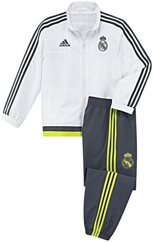 adidas Real Madrid Mini Presentation Chándal, Bebé-Niños: Amazon.es: Zapatos y complementos