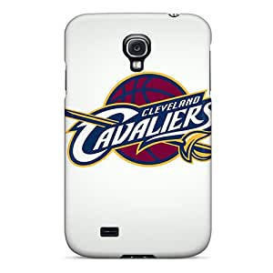 Hot Tpu Cover Case For Galaxy/ S4 Case Cover Skin - Cleveland Cavaliers