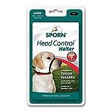 SPORN  Head Dog Halter, Black, Large