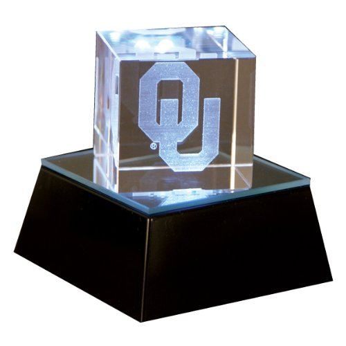 Oklahoma Sooners 2-Inch Square Helmet Cube with - America Base Square