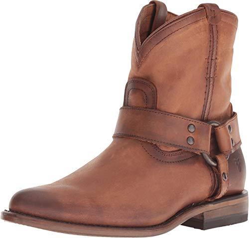 FRYE New Women's Wyatt Harness Short Boot Cognac 6.5