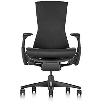 Herman Miller Embody Chair - Graphite Frame/Black Rhythm Textile