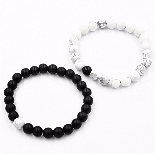 white Black jewelry and