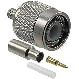 Amphenol Rf Rf/coaxial, Tnc Plug, Straight, 50 Ohm, Crimp - 031-2315-RFX