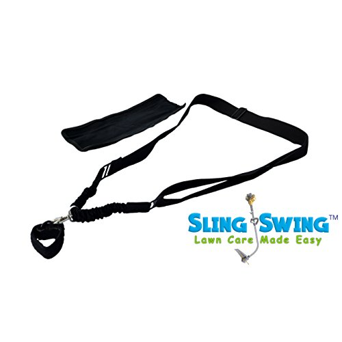 Sling Swing Weed Eater Grass Trimmer Harness & Shoulder Strap with Shock Bungee with Quick Detach Swivel, Ambidextrous LimbSaver Comfort-Tech MaxPower 8569 0300 Stihl Good Vibrations Meteor 410