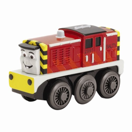 (Learning Curve Thomas and Friends Wooden Railway - Battery-Powered Salty)