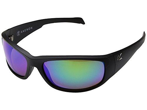 Kaenon Adult Capitola Sunglasses, Matte Black / Coastal Green, One - Sunglasses Coastal
