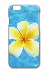 Iphone 6 Case, Case for Iphone6 4.7 Inch,iphone 6 Cases,case Iphone 6, Hawaiian Yellow Flowers Design Hard Skin Cover Shell for Iphone 6