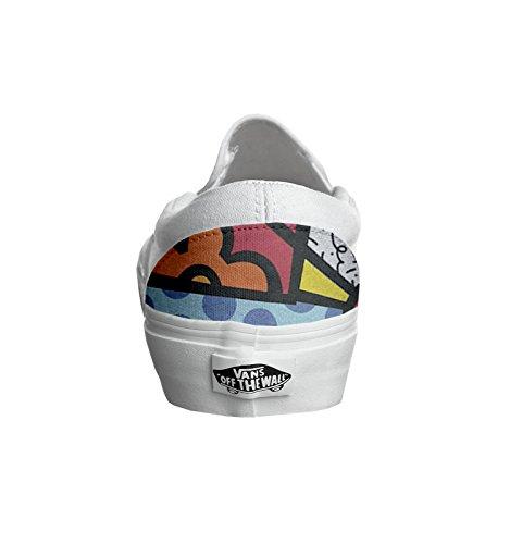 Vans Originali e personalizzate Unisex (Prodotto Artigianale) Multicolor