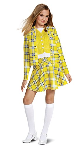 Disguise Cher Suit Classic Child Costume, Yellow, Large/(10-12)