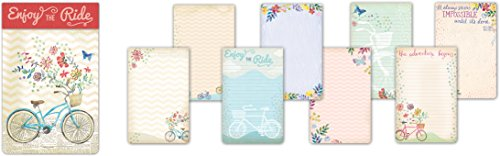 Molly & Rex Large Bicycle Notepad