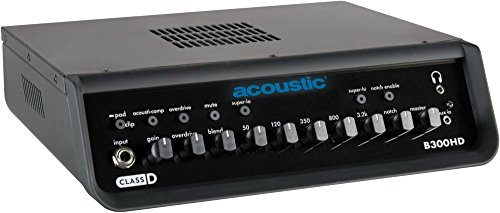 - Acoustic B300HD 300W Bass Amp Head