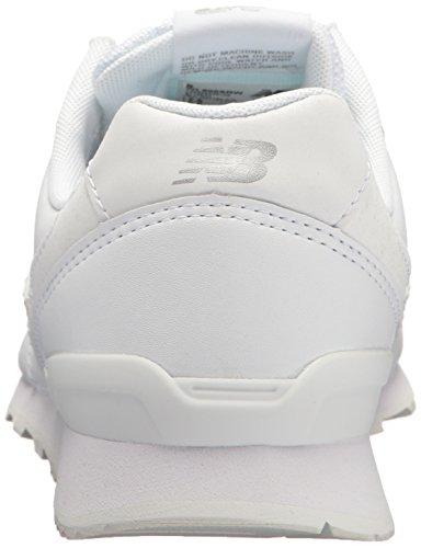 Nye Balance Kvindernes 696 V1 Sneaker Metallisk Sølv / Hvid 8pqPMsvIgh