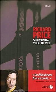 Souvenez-vous de moi : roman, Price, Richard