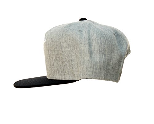 Famous Stars and Straps Men's Official Boh 2 Tone Hat, Heather Grey/Black, One Size