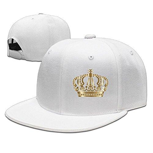 Baseball Caps Gold German Imperial Crown Men Fashion Adjustable Hip-Hop Hats ()