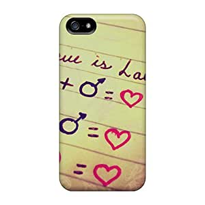 DustinHVance Perfect Tpu Case For Iphone 5/5s/ Anti-scratch Protector Case (love Is Love)