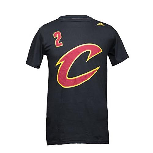 Lovely adidas NBA Cleveland Cavaliers Kyrie Irving Tee Shirt Black