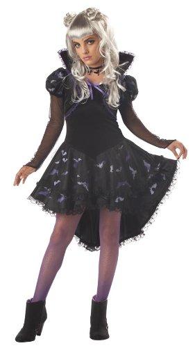 California Costumes Girls Tween Nocturna, The Vampire Princess Costume, Large