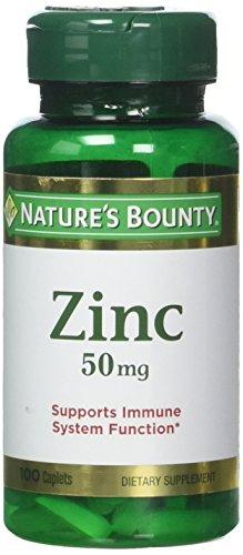 Nature's Bounty Zinc (Zinc Gluconate) 50mg, 400 Caplets (4 X 100 Count Bottles) Review