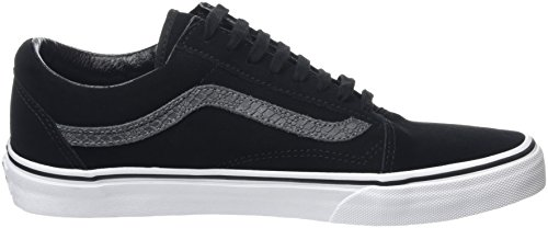 Vans Mixte Skool Basses U Black tornado Adulte Noir Old reptile Baskets Aff4Zqax