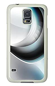 Samsung S5 case customize Abstract Swirls 06 PC White Custom Samsung Galaxy S5 Case Cover