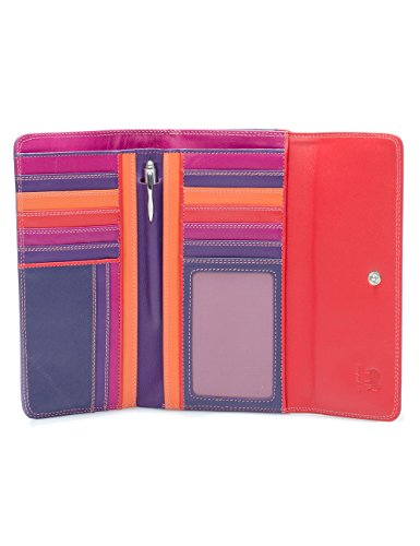 Zip Wallet Leather 269 Wallet fold women's 75 Tri MYWALIT Sangria wUw6x5Xaqp