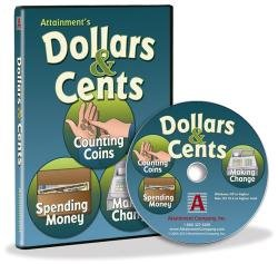 Dollars & Cents Software (Counting Coins has four activities: Naming, Matching, Sorting, and Vending - Vending Machine Dollar