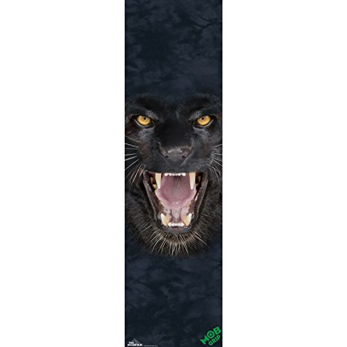 MOB Skateboard Gritpape THE MOUNTAIN TEETH JAGUAR 9'' x 33'' Grip Tape Sheet by Mob